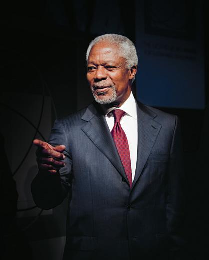 Kofi Annan, Göteborg, Sweden, 2011 / Camino
